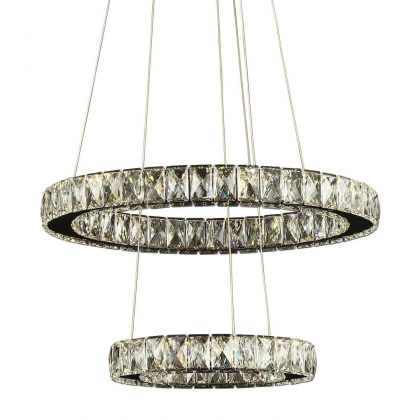 LÁMPARA DE CRISTAL JULIETTE LED 39W 4000K