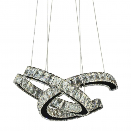 SUSPENSION CRISTAL JULIETTE LED 40W 4000K