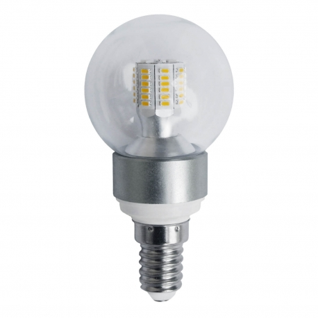 BOMBILLA DECORATIVA ESFERA LED E14 5W 3000K