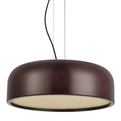 SUSPENSION TILDA MARRON/BLANC
