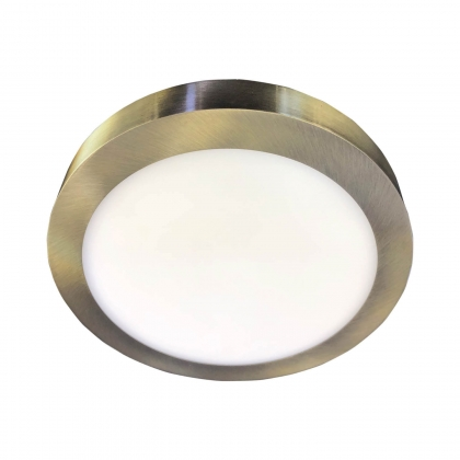 DOWNLIGHT SUPERFICIE CIRCULAR LED 12W 4000K CUERO