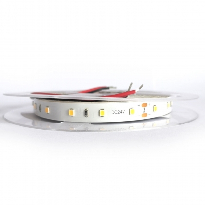 TIRA LED 8Wx5 24V DC 60 LED 2700K