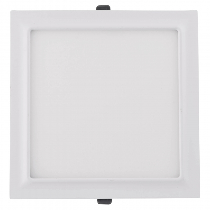 DOWNLIGHT LED CARRÉ 18W BLANC