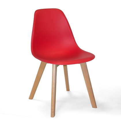 CHAISE TOWER SCARLETT ROUGE BOIS