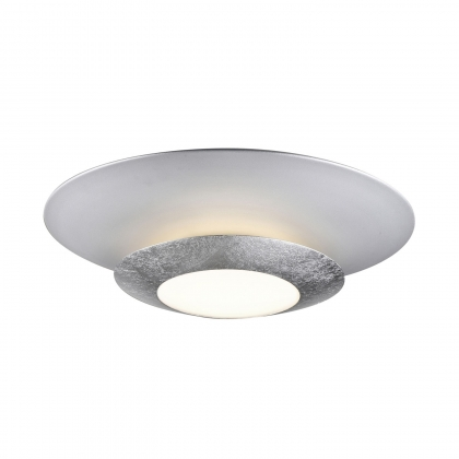 PLAFÓN LED NEW MOON PLATA 22.5W