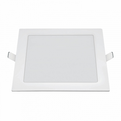DOWNLIGHT LED CUADRADO PLANO 20W 6500K