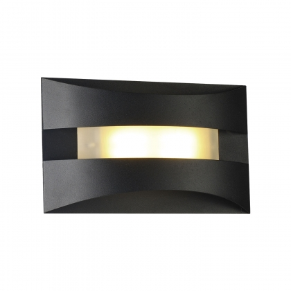 APPLIQUE MURALE LED 6W 4000K NOIR NOOR