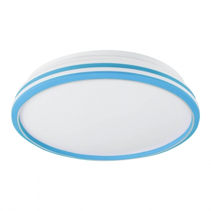 PLAFÓN LED PLANET BLANCO-AZUL