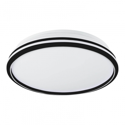 PLAFÓN LED PLANET BLANCO-NEGRO