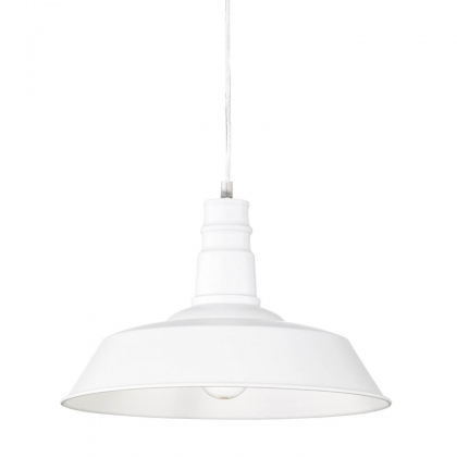 SUSPENSION TELMO INDUSTRIEL BLANC