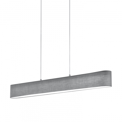 SUSPENSION CARLO LED GRISE