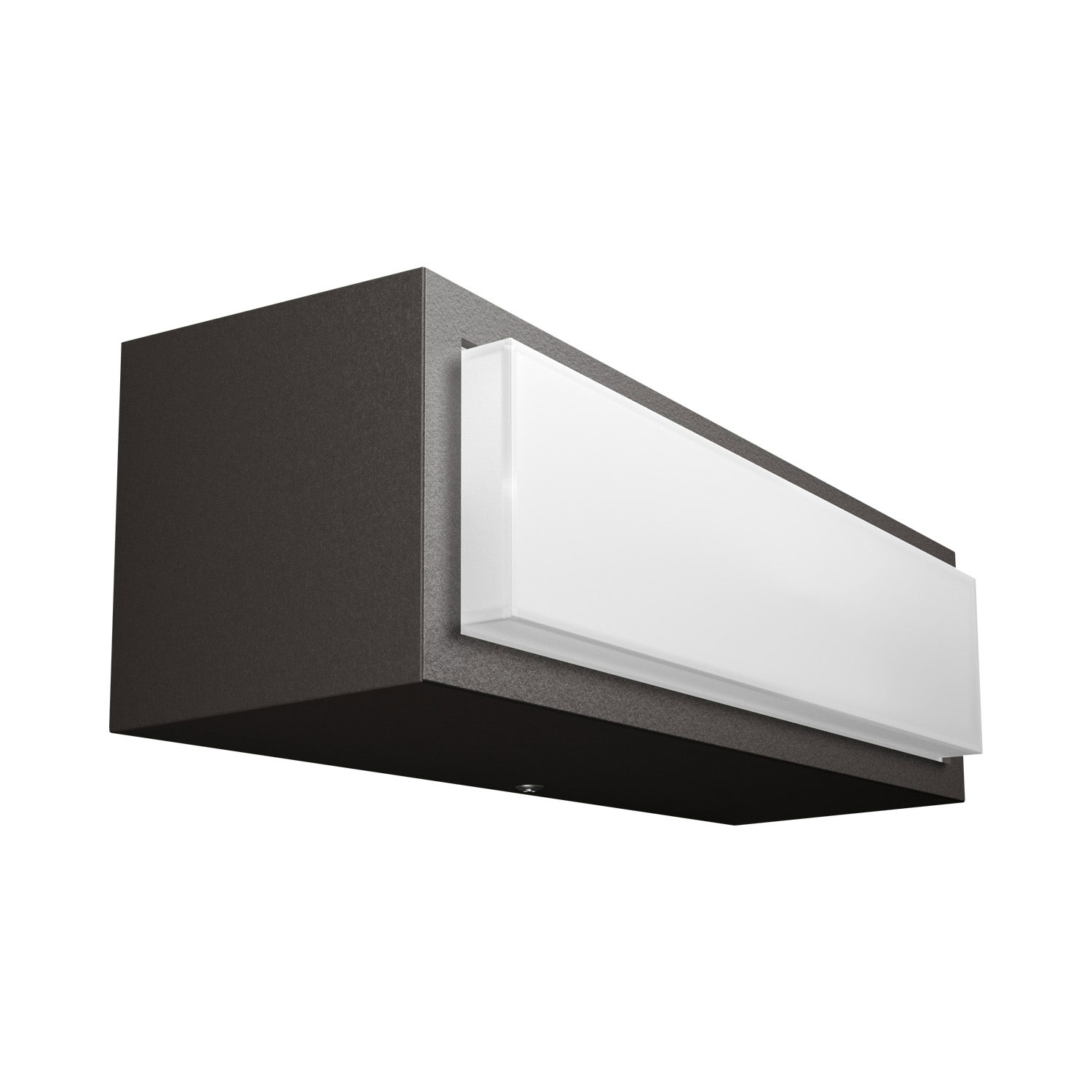 aplique exterior led stratosphere aplique de pared