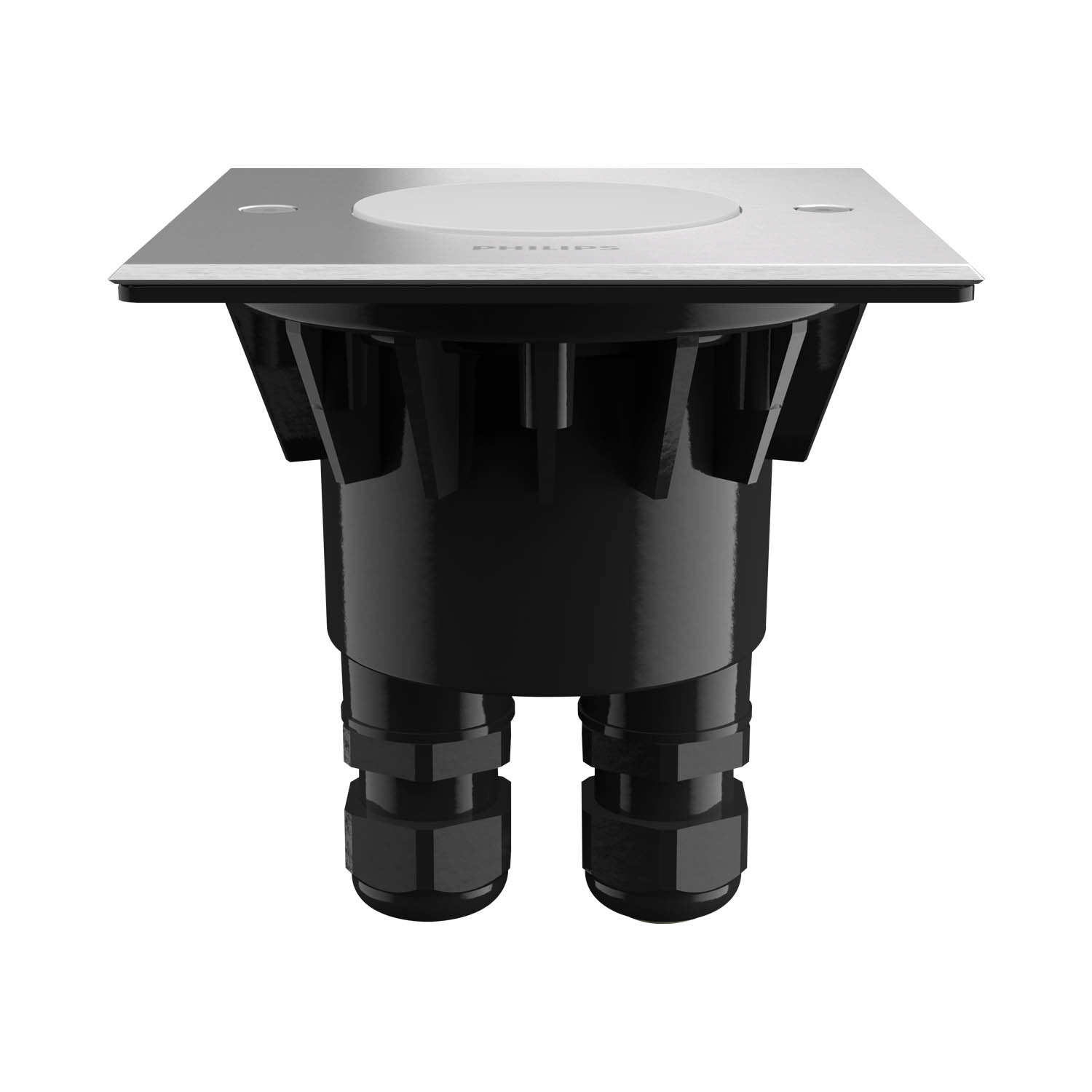 Empotrable exterior led crust philips led empotrable suelo for Focos empotrables exterior