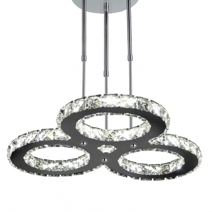 SUSPENSION LED ANNABEL CRISTAL 48W