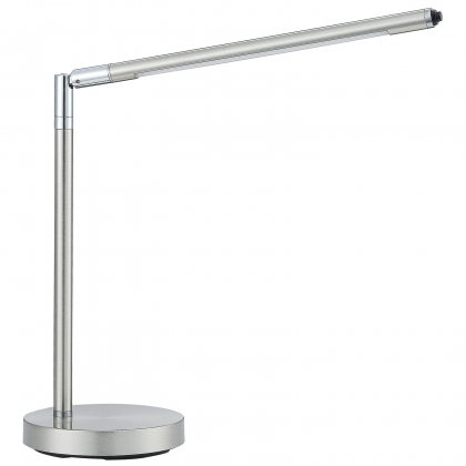 LÁMPARA DE MESA LED PERCY 4W NÍQUEL SATINADO