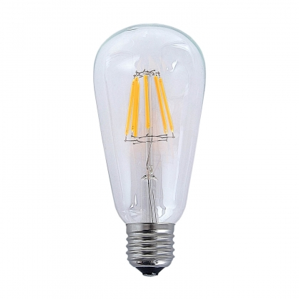 BOMBILLA DECORATIVA LED E27 8W 560 LM