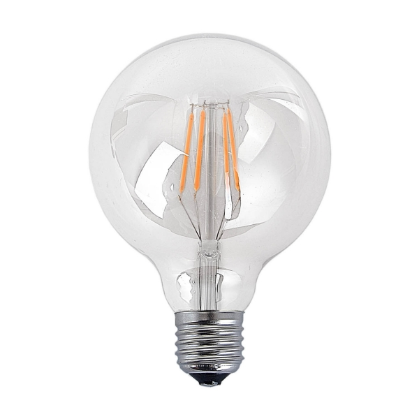 BOMBILLA DECORATIVA ESFERA LED E27 6W
